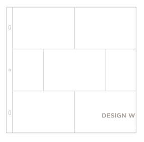 Фотофайлы Project Life-Дизайн W-штучно