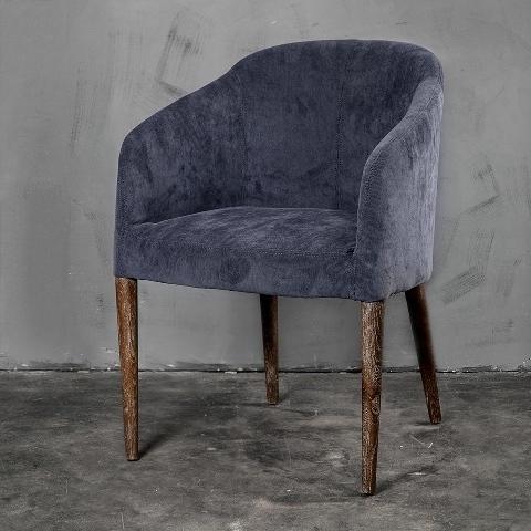 Кресло Roomers Корд серое