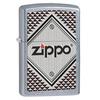 Зажигалка ZIPPO Red&chrome Street Chrome латунь/никель-хром (28465) набор zippo street chrome™ из узкой и широкой зажигалок