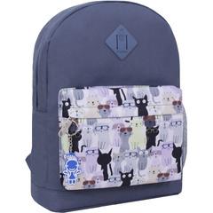 Рюкзак Bagland Молодежный W/R 17 л. серый 473 (00533662)