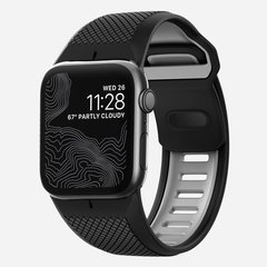Ремешок Nomad Sport Strap для Apple Watch 44mm/42mm черный/серый