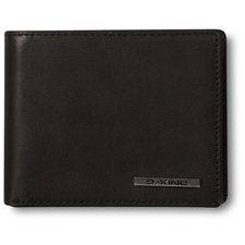 АКСЕССУАРЫ Кошелек кожанный Dakine Agent Leather Wallet Black 8820100_0X2_AGENTLEATHERWALLET_BLACK.jpg