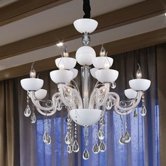 Люстра CRYSTAL LUX LUCCILA SP8+4 BIANCO