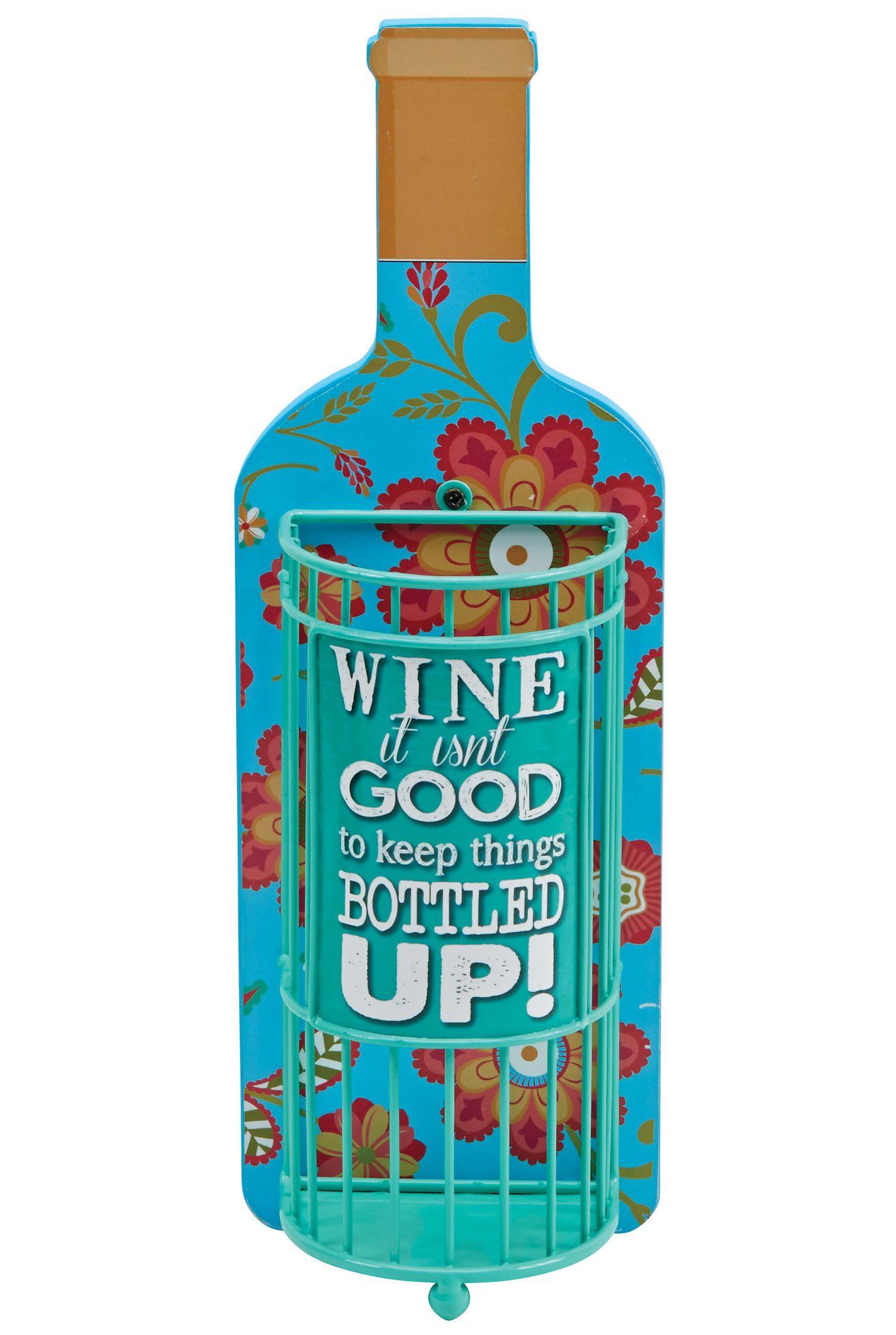 Декоративная емкость для винных пробок Boston Warehouse Bottled Up