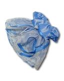 Платье из тафты - Голубой 1. Одежда для кукол, пупсов и мягких игрушек.