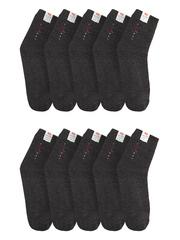 289 носки мужские 41-45 (10шт), темно-серые