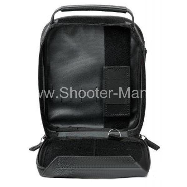 Сумка кобура для скрытого ношения пистолета № 2 кожаная фото