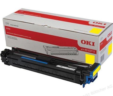 Фотобарабан для OKI C911, C931 желтый, ресурс 40000 стр., (45103713)