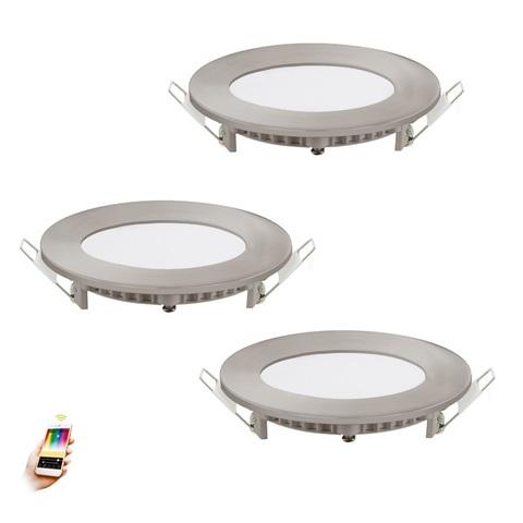 Комплект светильников светодиодных встраиваемых умный свет EGLO connect Eglo FUEVA-C 32882