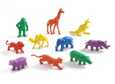Счетный материал фигурки Дикие животные, Edx education