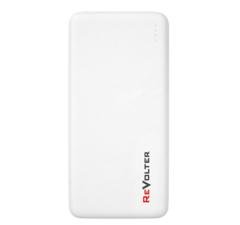 Портативное зарядное устройство ReVolter 10000 Power Bank Белый