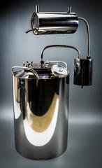 Самогонный аппарат «Премиум», с термометром и расширенной горловиной