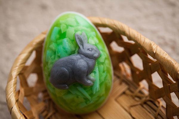 Пластиковая форма Яйцо/Кролик