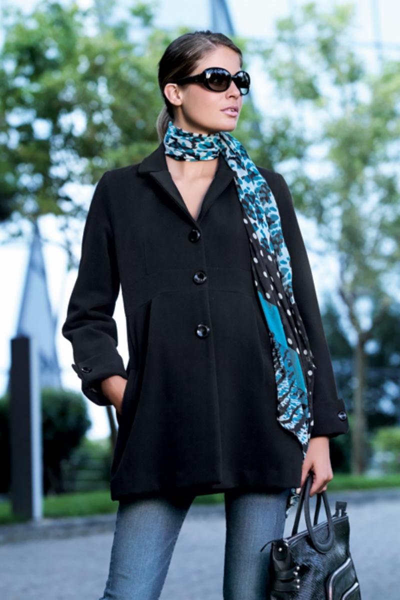 Пальто 05094 черный