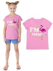 GF02-062/02п футболка детская, розовая