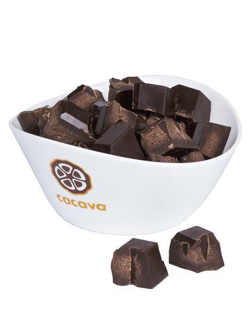 Горький шоколад 70 % какао (Венесуэла), внешний вид
