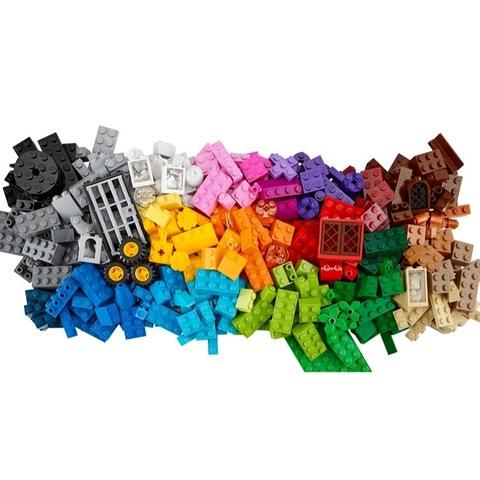 LEGO Classic: Набор для творчества большого размера 10698 — Large Creative Brick Box — Лего Креатор Творец