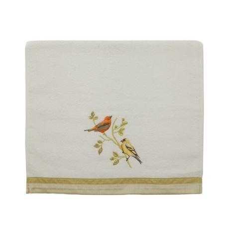 Полотенце 28х46 Avanti Gilded Birds белое