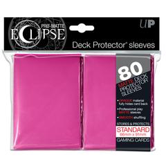 Ultra Pro - Розовые матовые протекторы PRO-Matte Eclipse 80 штук