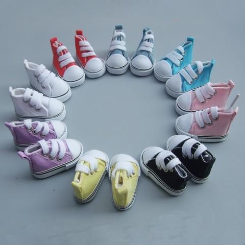 Взуття для ляльки. Кеди на шнурках