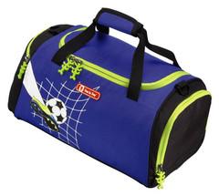 Сумка спортивная Step By Step Top Soccer полиэстер синий/рисунок