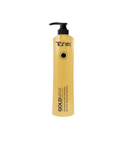GOLD MASK Маска с кератином и жидким золотом для восстановления волос 800 мл