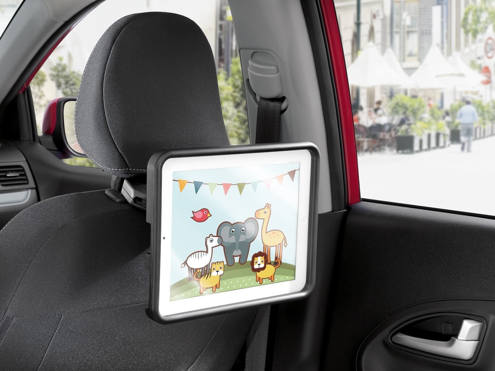Крепление для Ipad для 2-го ряда KIA 66582ADE01 для KIA Ceed 2018 - 2019 360 degree car back seat headrest mount holder for ipad mini 1 2 3 4 air galaxy tablet r179t drop shipping