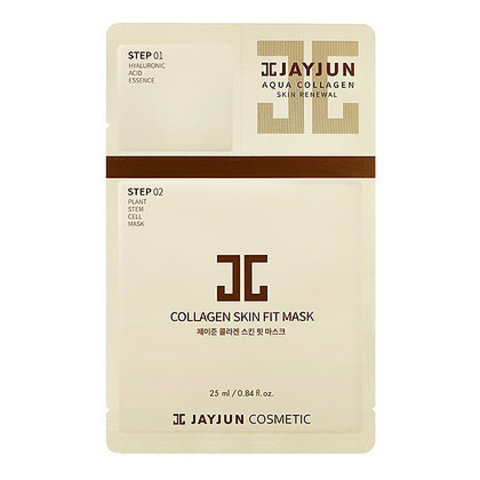 Маска для лица JAYJUN Cosmetic Collagen Skin Fit Mask 2 в 1