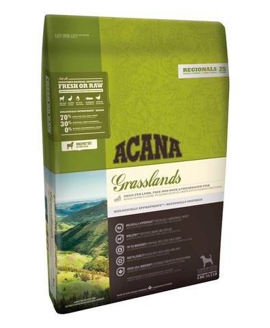 Acana Regionals Grasslands Dog беззерновой корм для собак (ягненок) 340 г