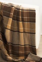 Плед-покрывало 130х170 Luxberry Vandyck коричневый