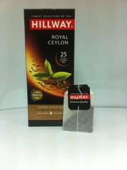 Чай Хилвей Роял Цейлон Черный пакетир. 2 гр*25 шт