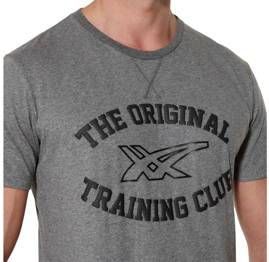 Мужская футболка асикс Graphic SS Top (125074 0773) серая