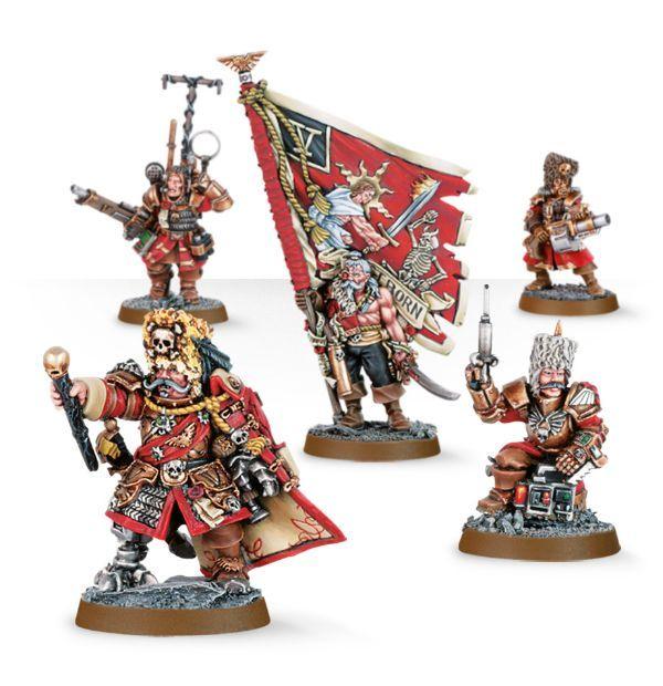 Vostroyan Command Squad. Весь отряд