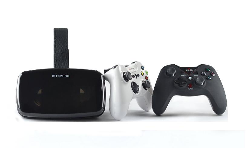 VR гарнитура / очки виртуальной реальности Homido v.2