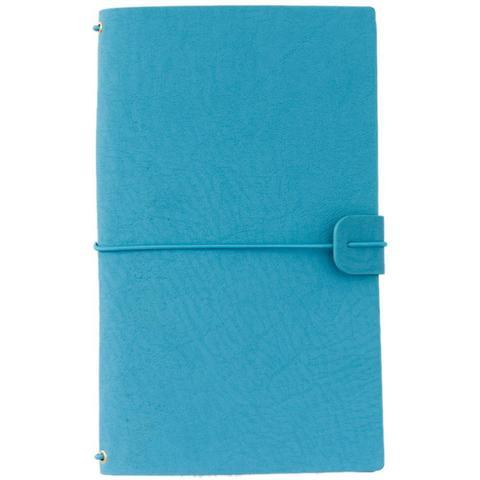 Блокнот -Freckled Fawn Sleek Traveler's Notebook БЕЗ наполнения - Rich Teal