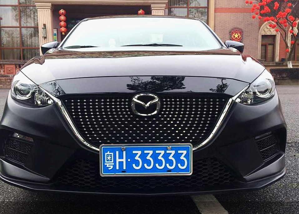 Радиаторная решетка AXELA Style для Mazda 3 2013-2017 led 2017 2018 mazd 3 axela daytime light axela fog light axela headlight tribute rx 7 rx 8 protege mx 3 miata cx4 axela