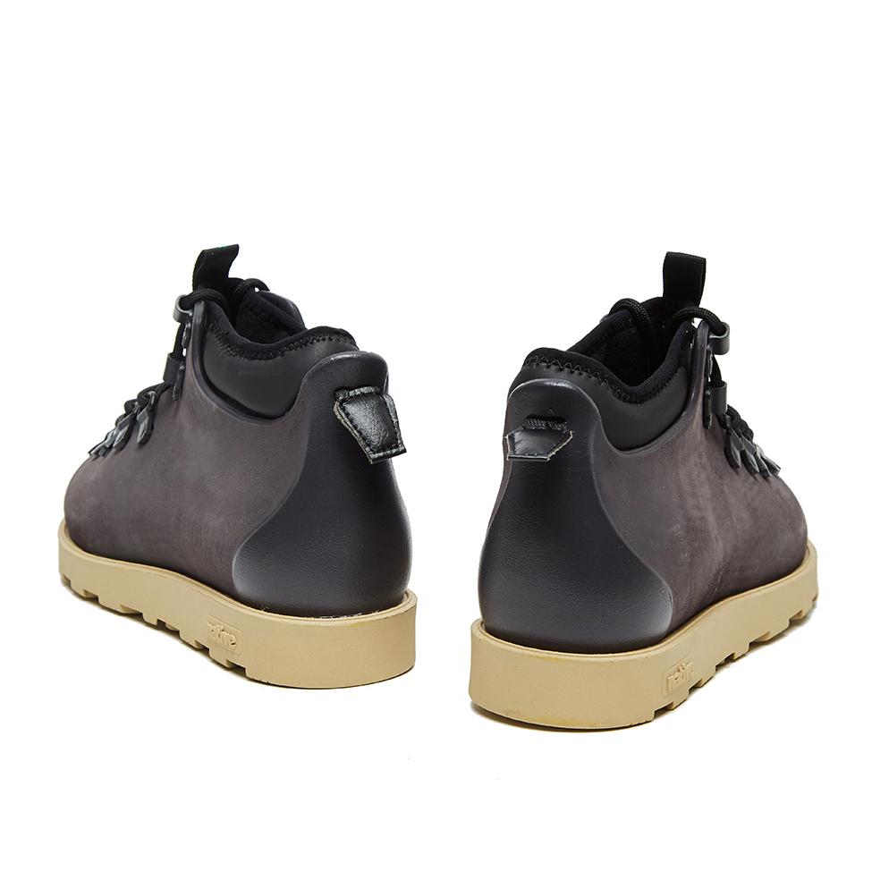 Ботинки Native Fitzsimmons Onyx Black / Rocky Brown