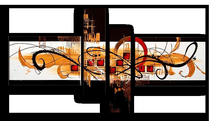 Модульные картины Грациозность (ручная работа маслом) р14.png