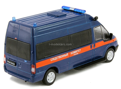 Ford Transit Investigative Committee Russia 1:43 DeAgostini Service Vehicle #45