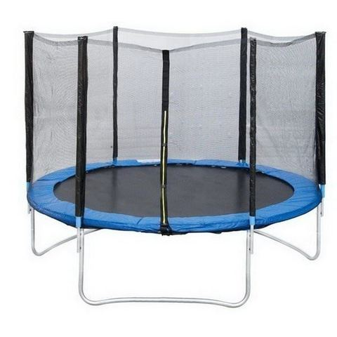 Батут с защитной сеткой «Trampoline 12» диаметр 3,7 м