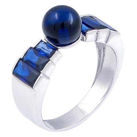 Кольцо с сапфиром Арт.1072кс