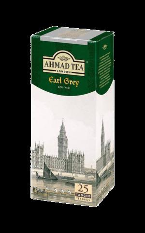 Ahmad tea Earl grey в пакетиках, 25 шт