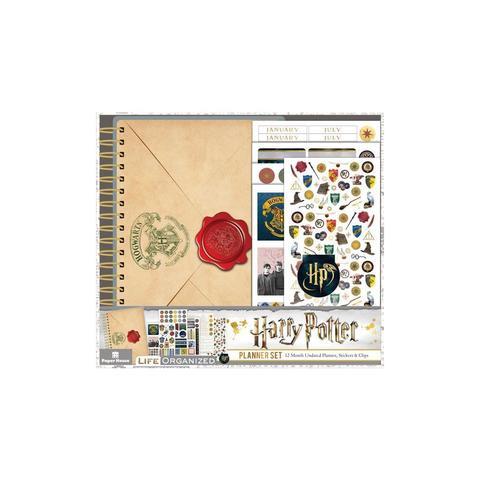 Ежедневник с украшениями - Paper House Harry Potter 12-Month Mini Planner Set