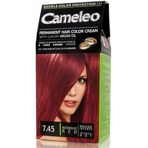 Delia Cosmetics Cameleo Крем-краска для волос тон 7.45 интенсивный красный