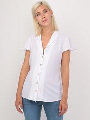 Евромама. Блуза для беременных и кормящих креп-шифон, белый