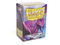 Dragon Shield - Фиолетовые небликующие матовые протекторы 100 штук