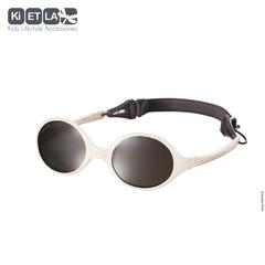 Очки солнцезащитные детские Ki ET LA Diabola 0-18 мес. Cream (бежевый)