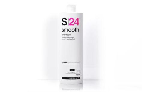 S24 Smoth Shampoo™ Шампунь разглаживающий для прямых волос, 200 мл