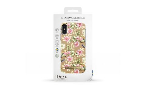 Чехол iDeal of Sweden Champagne Birds IPhone X