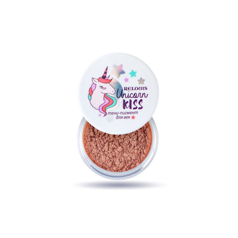 Relouis Unicorn Kiss Тени-пигмент для век тон 06 Peachy Unicorn
